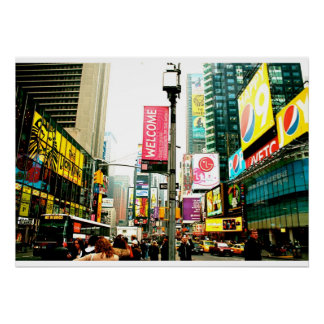 New York City, Times Square Poster