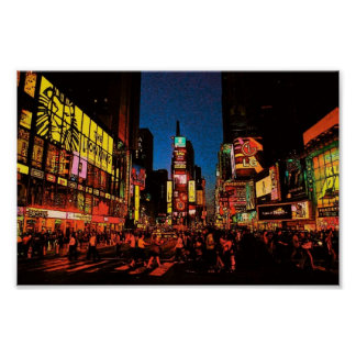 New York City (Times Square) Poster