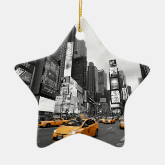 New York City - Times Square - USA Ceramic Star Decoration