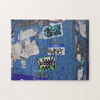 New York City Urban Graffiti Street Photography Jigsaw Puzzle