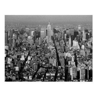 New York City USA skyline 1987 Postcard