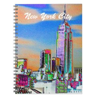 New York City USA Spiral Notebook