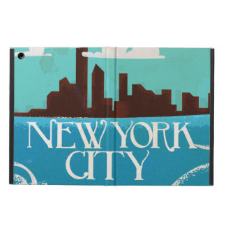 New York City vintage travel poster Cover For iPad Air
