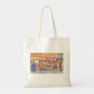 New York City Waking Up Tote Bag