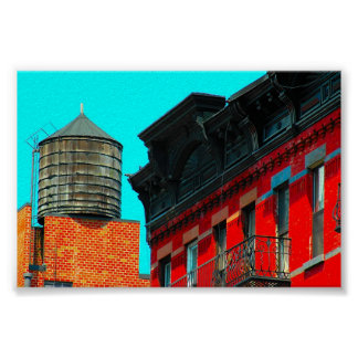 New York City Water Tower by Urban59 Poster