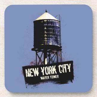 New York City Water Tower Coaster Set