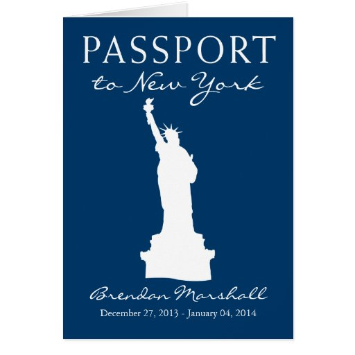 New York City Winter Holiday Passport Cards