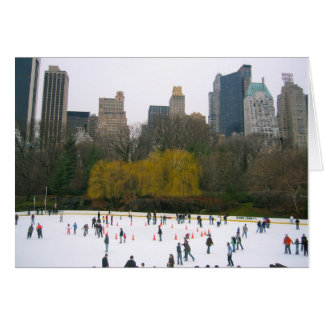 New York City Wollman Rink Holiday Cards