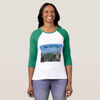 New York City Women's 3/4 Sleeve T-Shirt