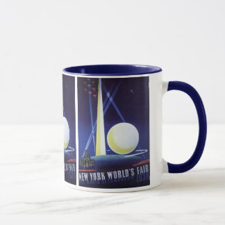 New York City World's Fair in 1939, Vintage Travel Mug