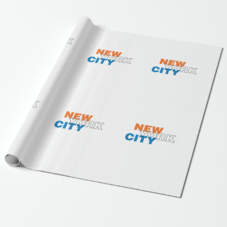 New York City Wrapping Paper
