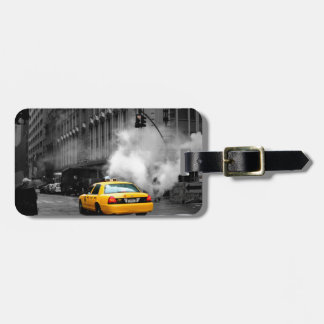 New York City Yellow Cab Luggage Tag