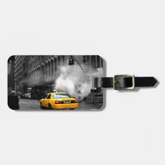 New York City Yellow Cab Luggage Tag