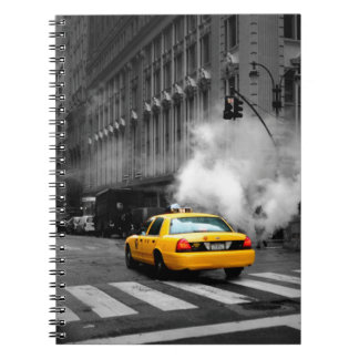 New York City Yellow Cab Note Books