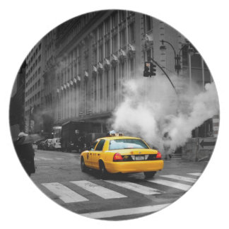 New York City Yellow Cab Plate