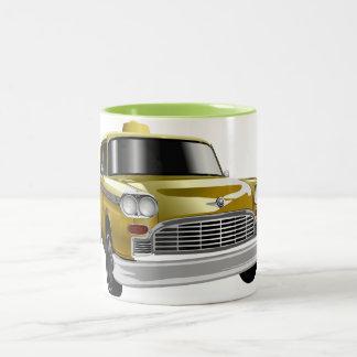 New York City Yellow Vintage Cab Mug