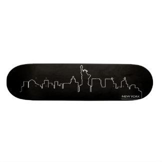 New York cityscape 19.7 Cm Skateboard Deck