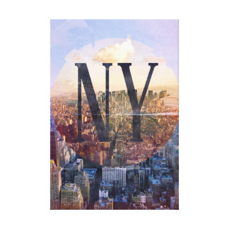 New York Cityscape Canvas Canvas Print