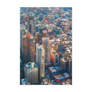 new york cityscape canvas prints