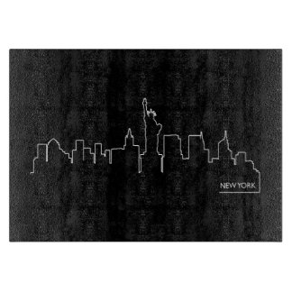 New York cityscape Cutting Board