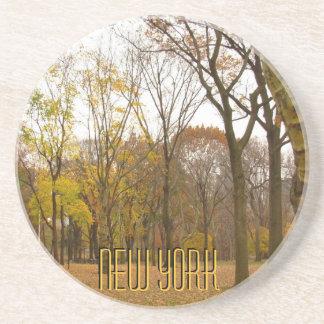 New York Coaster Central Park NY Souvenir Coaster