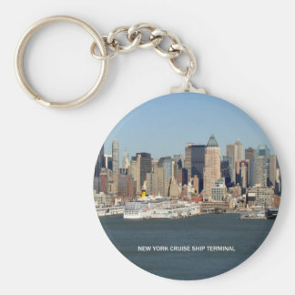 New York Cruise Ship Terminal Key Ring