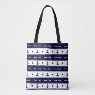 New York cruises pattern Tote Bag