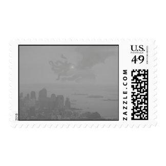 New York Cthulhu Stamp