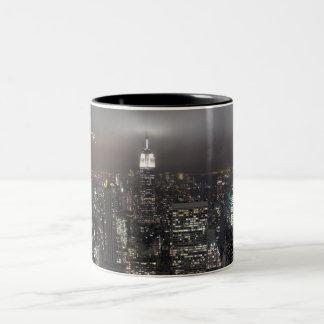 New York Cup Cityscape New York Night Mug