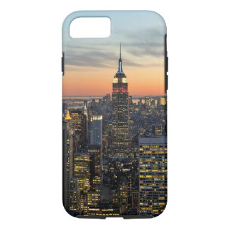New York dawn skyline iPhone 7 Case