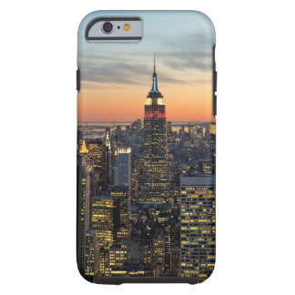 New York dawn skyline Tough iPhone 6 Case