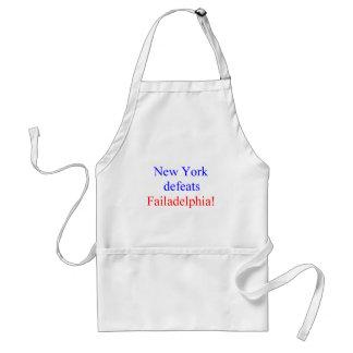 New York defeats Failadelphia! Standard Apron