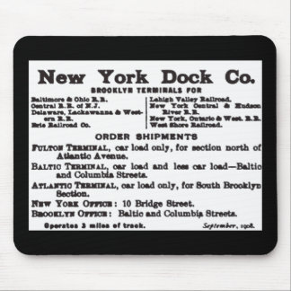 New York Dock Company Railroad Mouse Mat