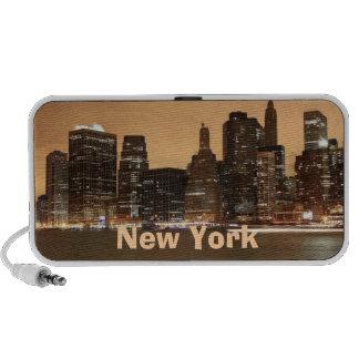 New York Doodle Travel Speaker