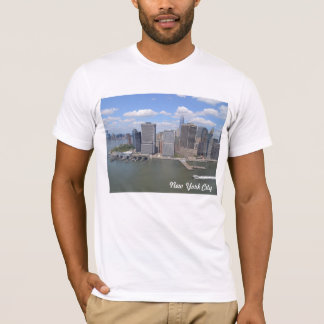 New York Downtown Docks T-shirt Print