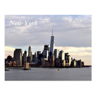 New York, Downtown Postcard