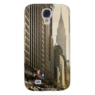 New York, E 42 St and Chrysler Building Galaxy S4 Case
