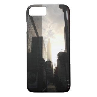 New York Empire State Building sunrise photo iPhone 7 Case