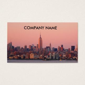 New York Evening Business Cards
