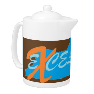 New York eXcelsior Tea Pot