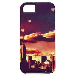 New York Fairy Tale - Skyline Hearts Tough iPhone 5 Case
