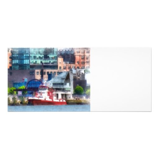 New York Fire Boat Custom Rack Cards