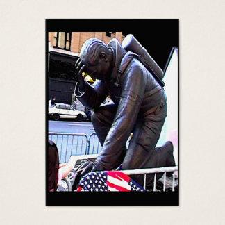 New York Fireman Art 2009~1 jGibney Trading Card