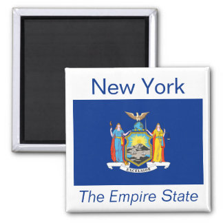 New York Flag Magnet