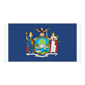 New York Flag Photo Card