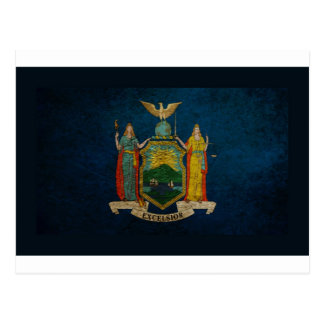 New York Flag Postcard