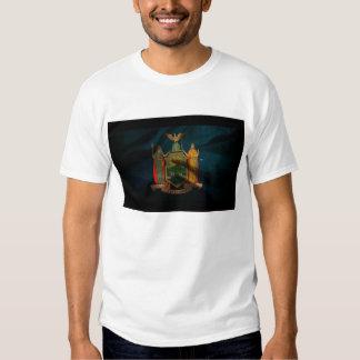 New York Flag Silk Shirts