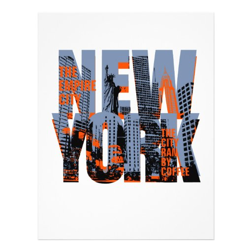 NEW YORK CUSTOM FLYER
