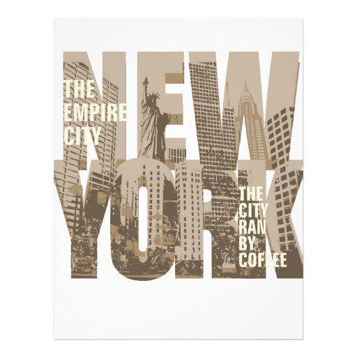 NEW YORK FLYER DESIGN