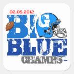 New York Football Champs 2012 Sticker